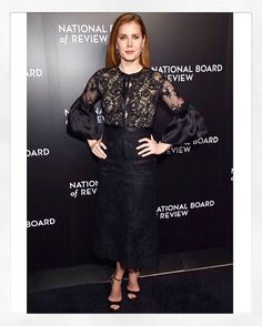 Belle. X The exquisite #amyadams wearing #pf17marchesa to the 2016 National Board Review Gala. Styled by @petraflannery. Shop the look @nordstrom! #marchesa @georginachapmanmarchesa @kerencraigmarchesa