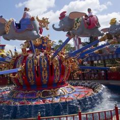 Dumbo  in Storybook Circus