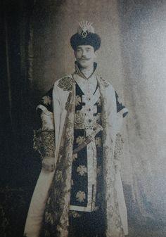 Михаил Романов на балу-маскараде. Фото: предоставлено краеведческим музеем