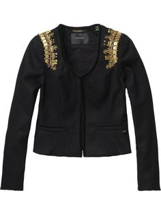 Rock inspired jacket by Maison Scotch - Love it!