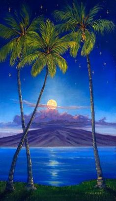 """Lahaina Luna"" by Janet Spreiter at Maui Hands"