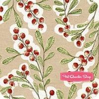 Merry Stitches Beige Much Joy Yardage SKU# 11210404-1