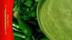 Salsa Taquera - Salsa Verde - Comiendo Rico