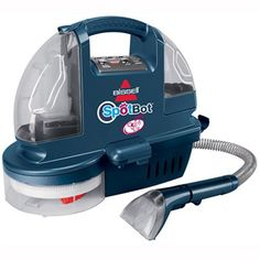 Amazon.com: BISSELL SpotBot Pet Hands-Free Compact Deep Cleaner, Blue Illusion, 1200A: Home & Kitchen  Coming from both ends with both cat and dog and of course, AFTER I had the carpets professionally cleaned- This product works great!
