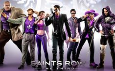 The Saints ride again with Saints Row: The Third on Xbox One backward compatibility today: It may be my least favorite of the series, but… Saints Row Iv, Xbox One, Grand Theft Auto, The Row, Third Street, Neil Patrick Harris, 3 Characters, Sr1, Video X