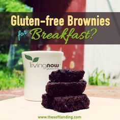 #GlutenFree Brownies for Breakfast by @The Soft Landing