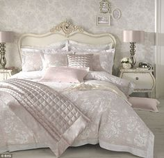 Welcome to Holly's boudoir: Ranging in price from £15-£100, Holly's range for BHS