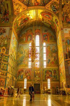 Russian Orthodox church by ZINO (Astana, Kazakhstan)