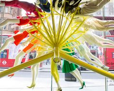 Created for the Topshop RIBA regent street windows project, the color wheel installation by NEON and studioXAG.