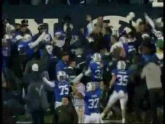 Max Hall TD pass to Andrew George - BYU Beats Utah 2009 Football! Ha...that's my brother right there! #75