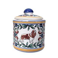 Cavalier King Charles Spaniel Sugar Bowl by shepherdsgrove on Etsy