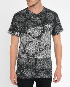 Eleven Paris Graphic Back Numbers Kanye T-Shirt in Black for Men