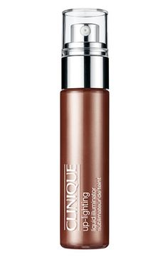 "Cure that ""office zombie"" skin with Clinique Up-Lighting Liquid Illuminator in Bronze. It gives the loveliest, sexiest glow. Gorgeous mixed into foundation or simply dabbed over naked cheekbones."