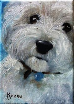 west highland terrier art - Google Search