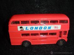 AUTOBUS INGLÉS DE DOS PISOS. ENGLISH BUS LONDON.M.PERSAUD LTD.