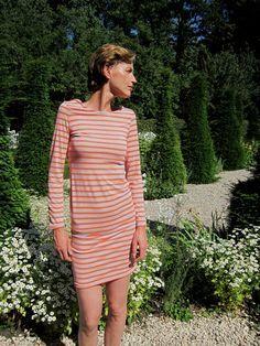 Kostenlose Nähanleitung und Schnittmuster für ein Boatneck Kleid