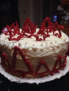 Red velvet cheesecake - Cheesecake Factory copycat