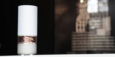 The Pavilion Bluetooth speaker has a built-in battery for portable audio convenience, and feature a 20 ...