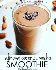 Almond-Coconut Mocha Smoothie
