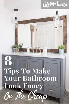 home renovation Looking to spruce up your bathroom space on a budget? Try these tips to make it look Decor, Updating House, Diy Remodel, Home Remodeling, Home Decor, Home Renovation, Bathrooms Remodel, Bathroom Decor, Farmhouse Side Table