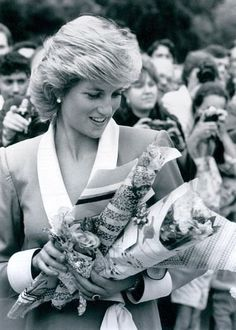 Opening the Princess of Wales Conservatory, Kew Gardens , le 28 Juillet 1987