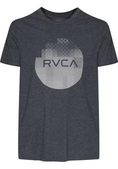 RVCA Halftone-Fade, T-Shirt, black Titus Titus Skateshop #TShirt #MenClothing #titus #titusskateshop