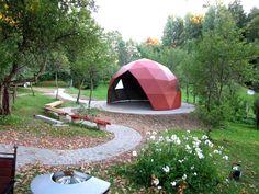 Summerhouse in Latvia. Dome Society.