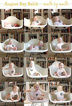 10 Creative Ways to Capture Monthly Baby Photos | Babys First Year Blog
