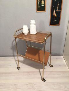 Vintage Tische - toller Servierwagen Messing MID CENTURY - ein Designerstück von Mid-Century-Frankfurt bei DaWanda