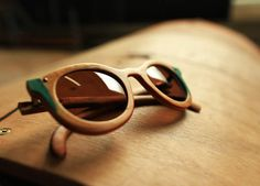 Australian brand Holloway has taken the innovative step of manufacturing their sunglasses from reclaimed skateboard decks. It's a great concept, especially since they provide a finished product that's not only strong, but unique & colorful as well.