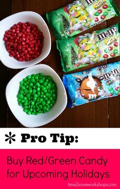 10 Ways to Save Money Shopping Holiday Clearance (Pro-Tip #3 - Creative uses for Clearance Candy)