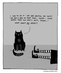 Salem by gemma correll, via Flickr