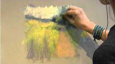 Pastel Landscape Variation Demo by Marla Baggetta - YouTube