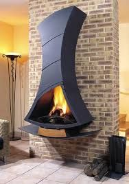 Resultado de imagen para chimeneas de alimentación externa hechas para cabañas