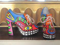 Art shoes, model Gaga, by Ton Pret