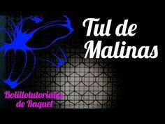 Fondo TUL DE MALINAS - Bolillotutorial ADSUAR - Encaje de Bolillos - YouTube