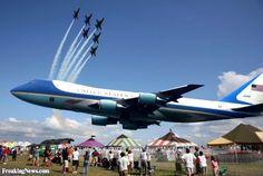 air force one | Air Force One at Air Show