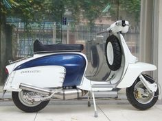 Restored Lambretta scooters and Vespa scooters for sale - Only Quality Lambretta parts Vespa parts DIRECT from the manufacturer at great prices. Vespa Ape, Lambretta Scooter, Scooter Motorcycle, Vespa Scooters, Retro Scooter, Scooter Girl, Honda Cub, Motor Scooters, Classic Motors