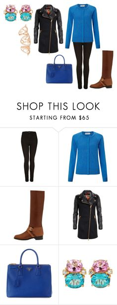 """Untitled #20867"" by edasn12 ❤ liked on Polyvore featuring Topshop, John Lewis, Mulberry, Versus, Prada and Stephen Webster"