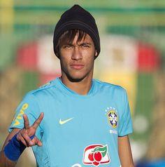 Neymar Da Silva more info here http://www.braziltravelbeaches.com/neymar.html  #Neymar #football #worldcup2014 #soccer