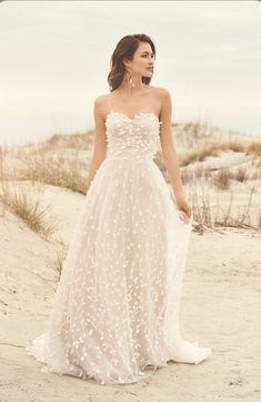 Lillian West wedding dresses embody whimsy and romance. From soft, patchwork laces to flowing silhouettes, Lillian West is perfect for the free-spirit bride. Lace Wedding Dress, Classic Wedding Dress, Bohemian Wedding Dresses, Wedding Dress Shopping, Bohemian Weddings, Backless Wedding, Modest Wedding, Lillian West, Bridal Gowns