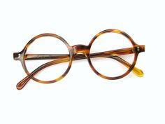 Round 60s Tortoise Eyeglasses Frames Tart Optical