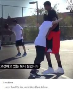 never forget the time yoongi played hard defense