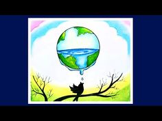 How to Draw Save Water Picture Save Water Drawing Images, Save Water Pictures, Save Water Images, Save Water Poster Drawing, Save Earth Drawing, Save Water Save Life, Environment Painting, Save Environment, Earth Drawings
