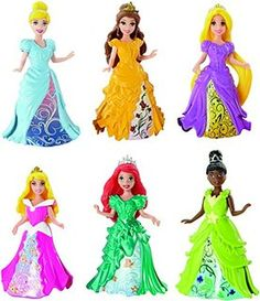 Amazon.com: Disney Princess Little Kingdom Magiclip Fashion ...