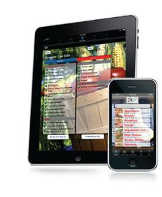 iPad/iPhone App for those with Food Allergies.. re-adjusts recipes to exclude all of your allergens.
