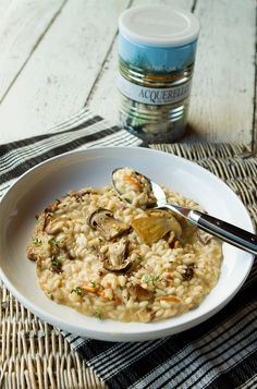 Creamy Mushroom Risotto With Thyme & Mascarpone Cheese – Italian Food Forever