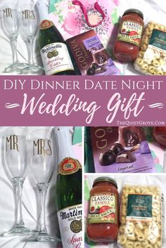 This is such a fun DIY wedding gift that is easy to put together and always appriciated.