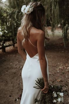 The Dove is one of the stars of our exclusive silk gown range. The perfect canvas to build your Grace Loves Lace look. Shop now or book a showroom appointment! Boho Wedding Dress, Dream Wedding Dresses, Bridal Dresses, Open Back Wedding Dress, Simple Wedding Gowns, Simple Wedding Hairstyles, Backless Wedding, Timeless Wedding, Wedding Dress Shopping