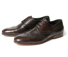 Addison brown oxfords by Hudson.